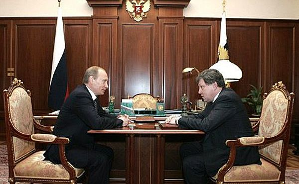 Владимир Путин и Григорий Явлинский.