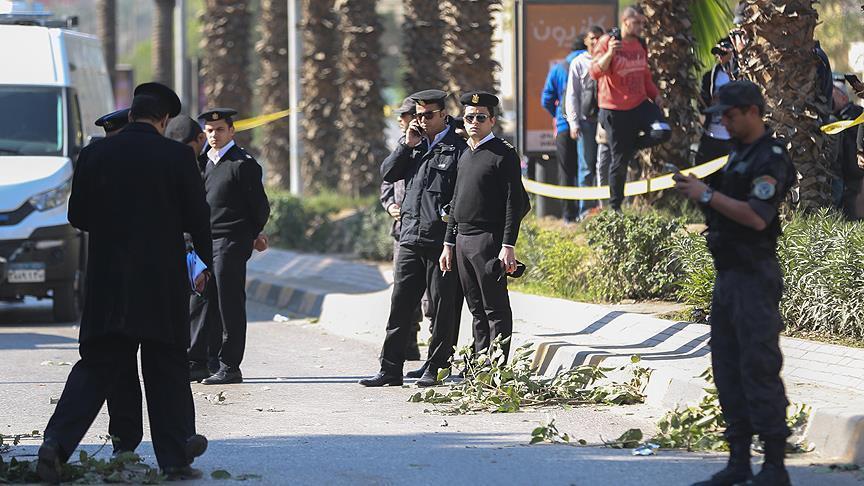 Египетские полицейские, иллюстрация