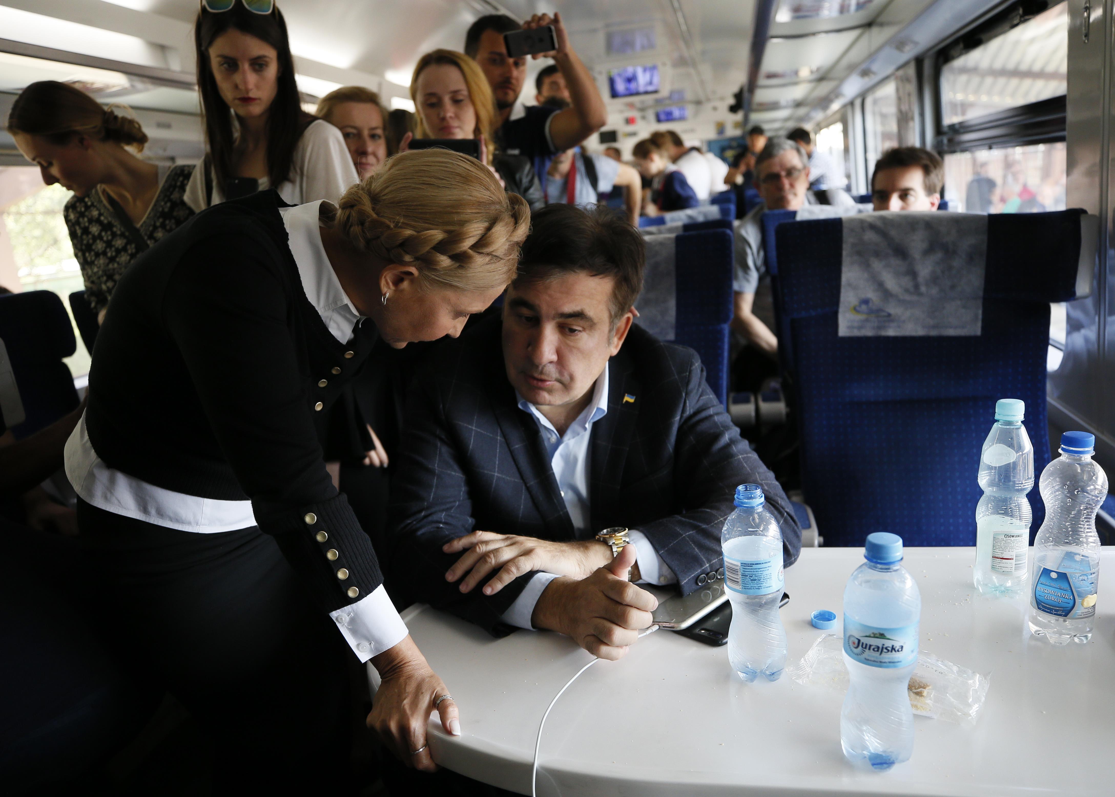 Тимошенко не нужен Саакашвили