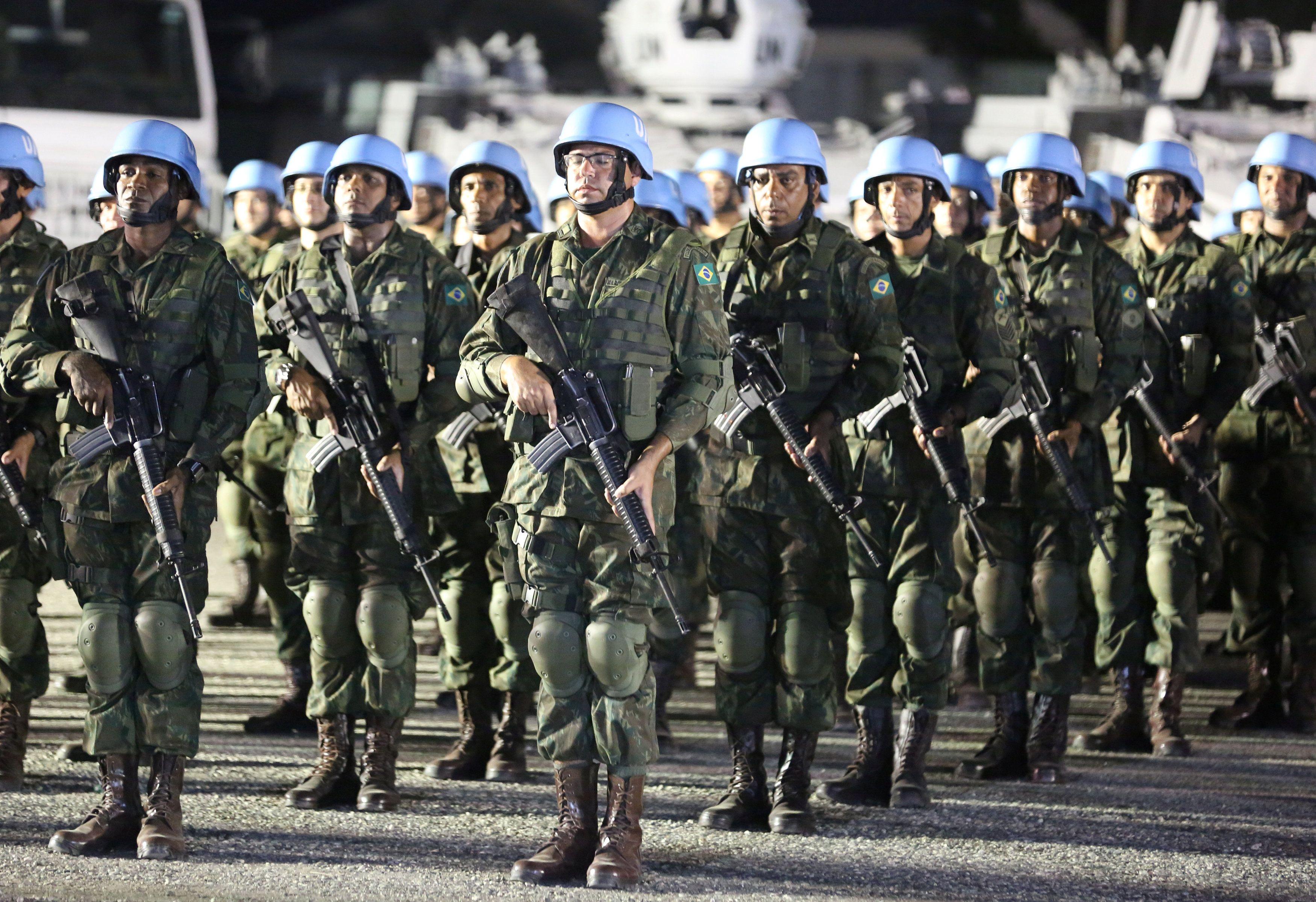 Миротворцы ООН, иллюстрация.
