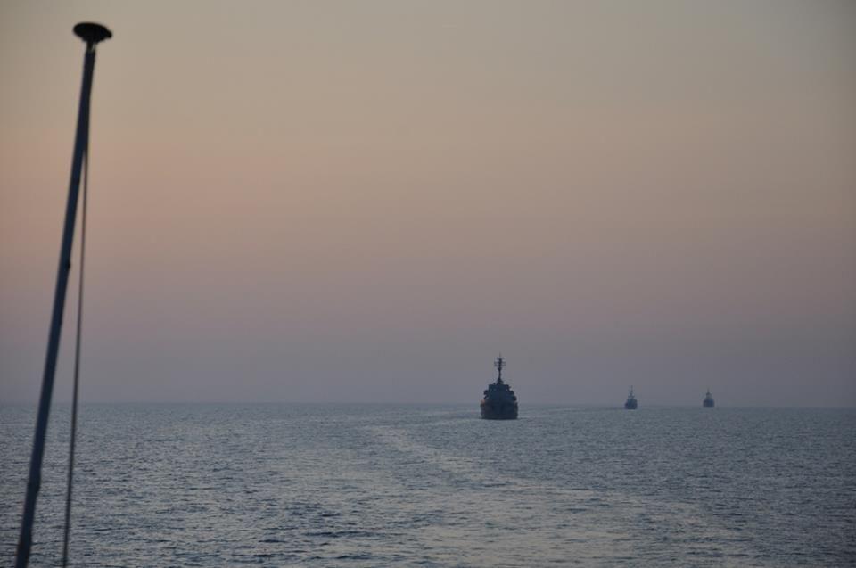 Конвои ВМС могут сопровождать украинские суда