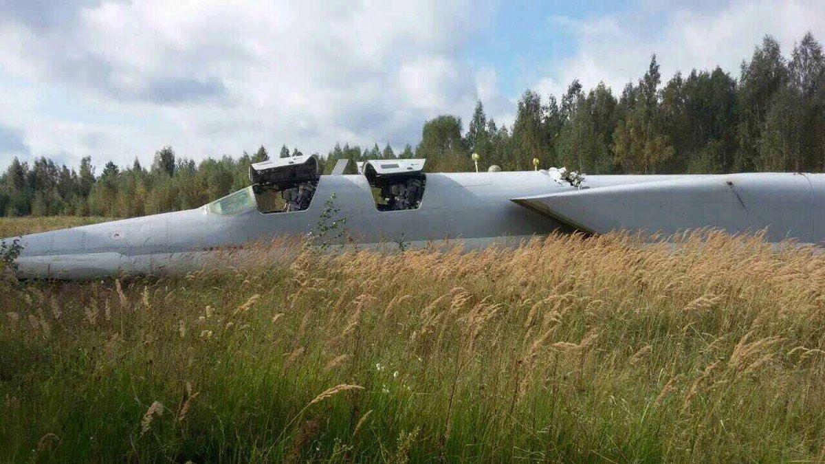 Экипаж Ту-22М3 не пострадал