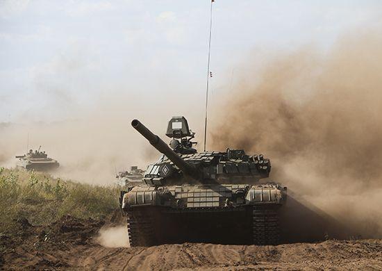 Российские танки, иллюстрация