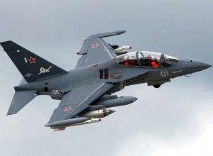 В РФ разбился Як-130