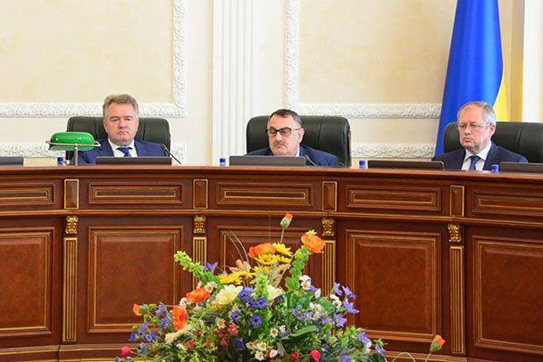Заседание Высшего совета правосудия