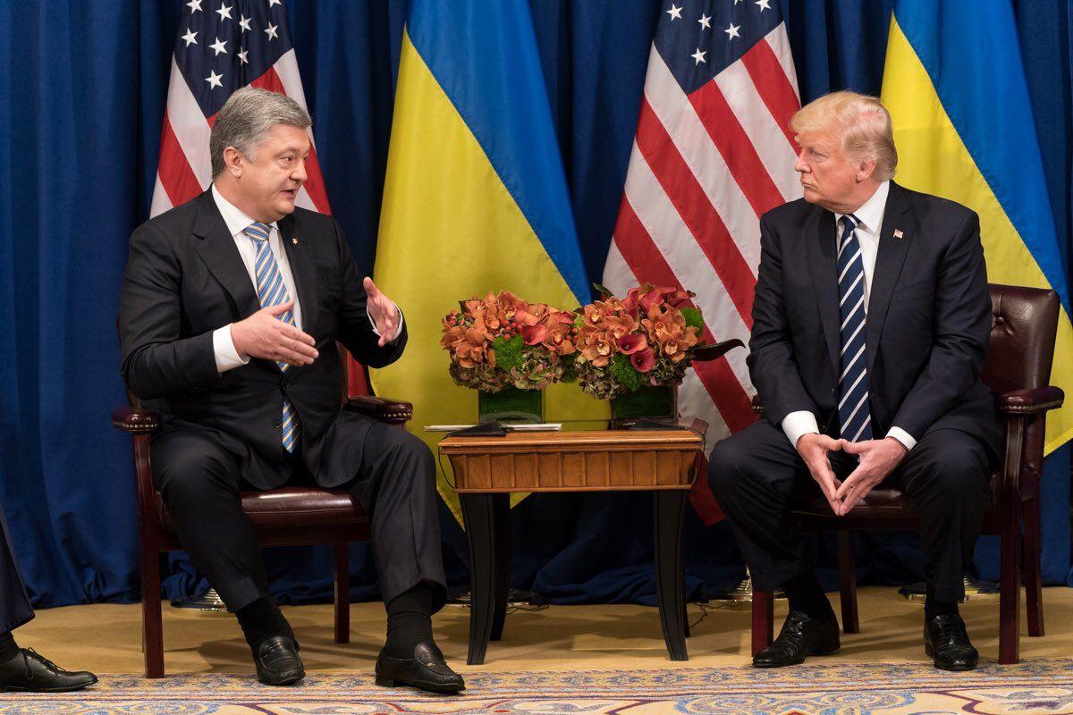 На встрече Петр Порошенко и Дональд Трамп могут поговорить об урегулировании конфликта на Донбассе, считает эксперт