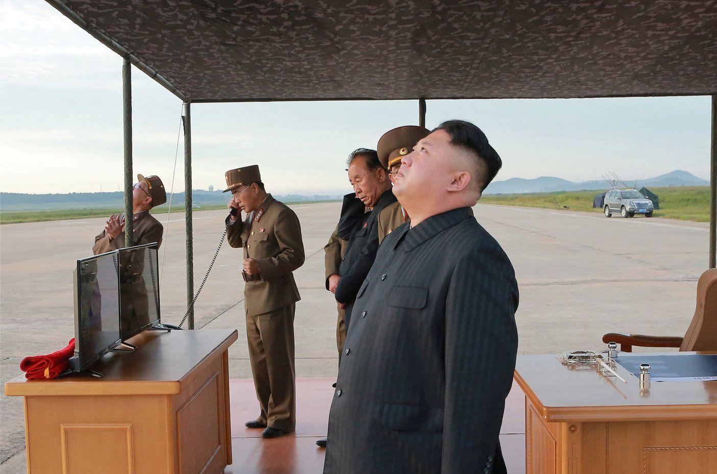 КНДР, Ким Чен, Ын, ракета, запуск