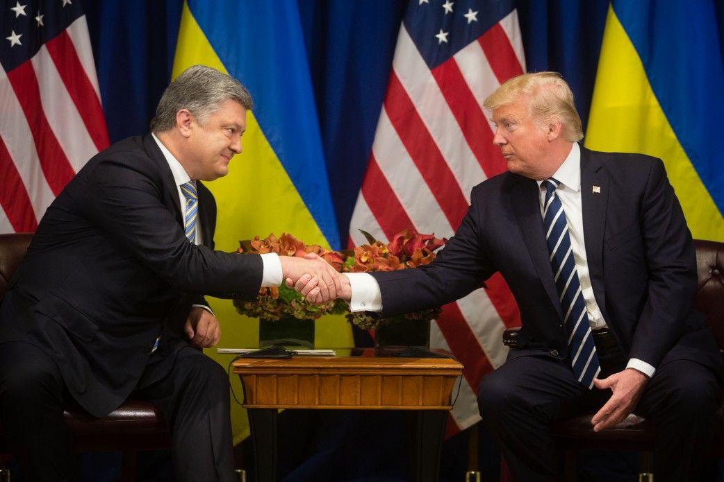 Порошенко так и встретился с Трампом в Давосе