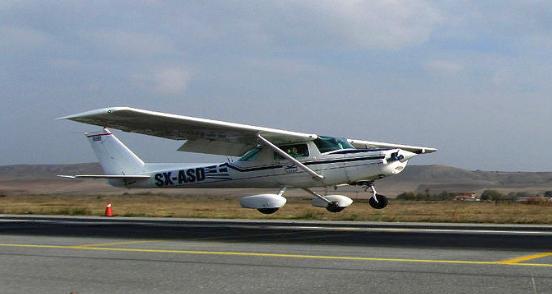 Частный самолет, иллюстрация