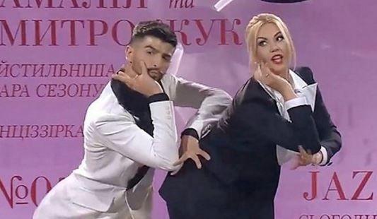 Певица Камалия и Дмитрий Жук