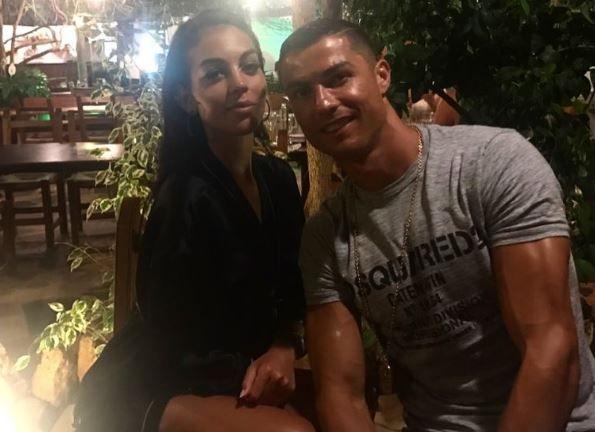 Джорджина Родригес и Криштиану Роналду