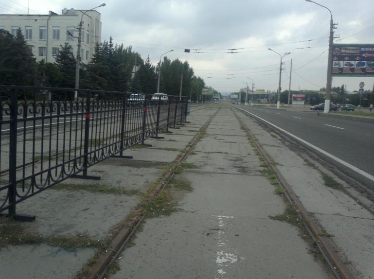 В Луганске больше нет трамваев
