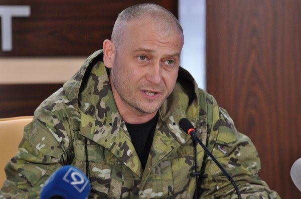 Дмитрий Ярош рассказал о возвращении территорий
