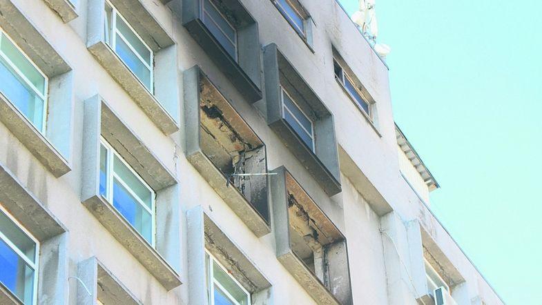 Огонь уничтожил 30 кв. м площади