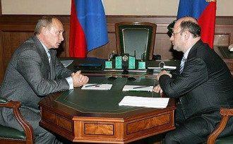 Владмир Путин и Александр Бабаков