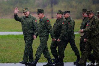 Лукашенко, навчання, армія, Захід2017
