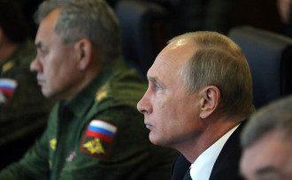 Путин, армия, учения, Шойгу