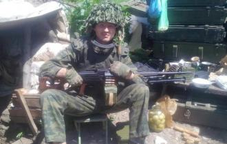 Боевик ДНР Алексей Ершов