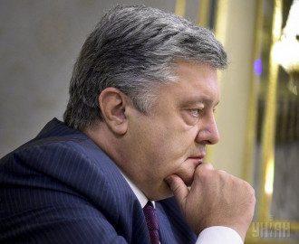 Петр Порошенко, серьезный