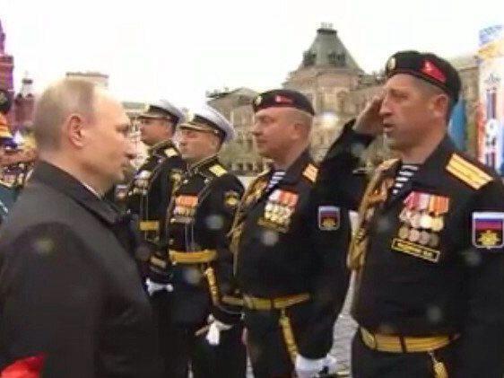 Половник Валерий Федянин (справа)