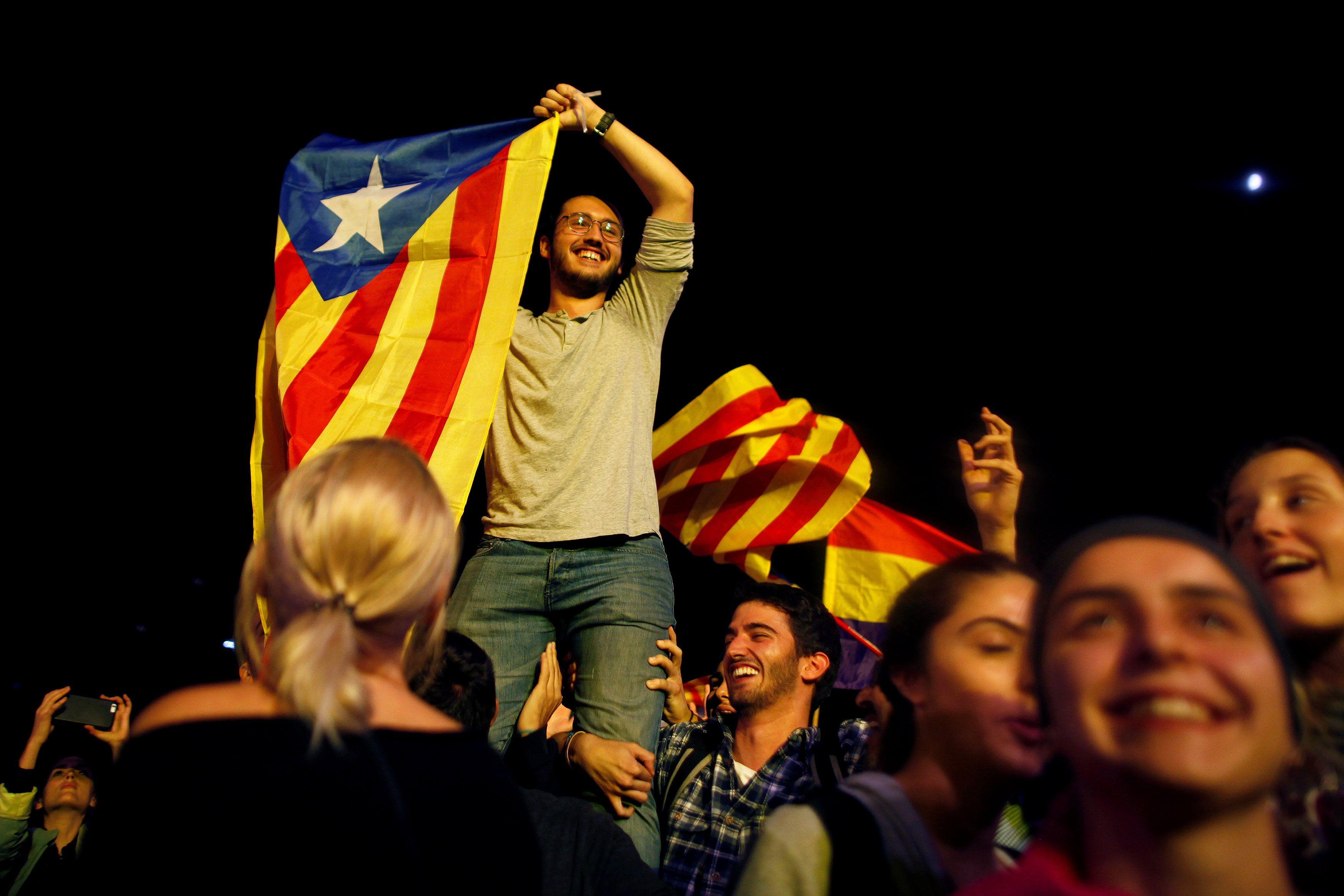 Референдум в Каталонии, иллюстрация.