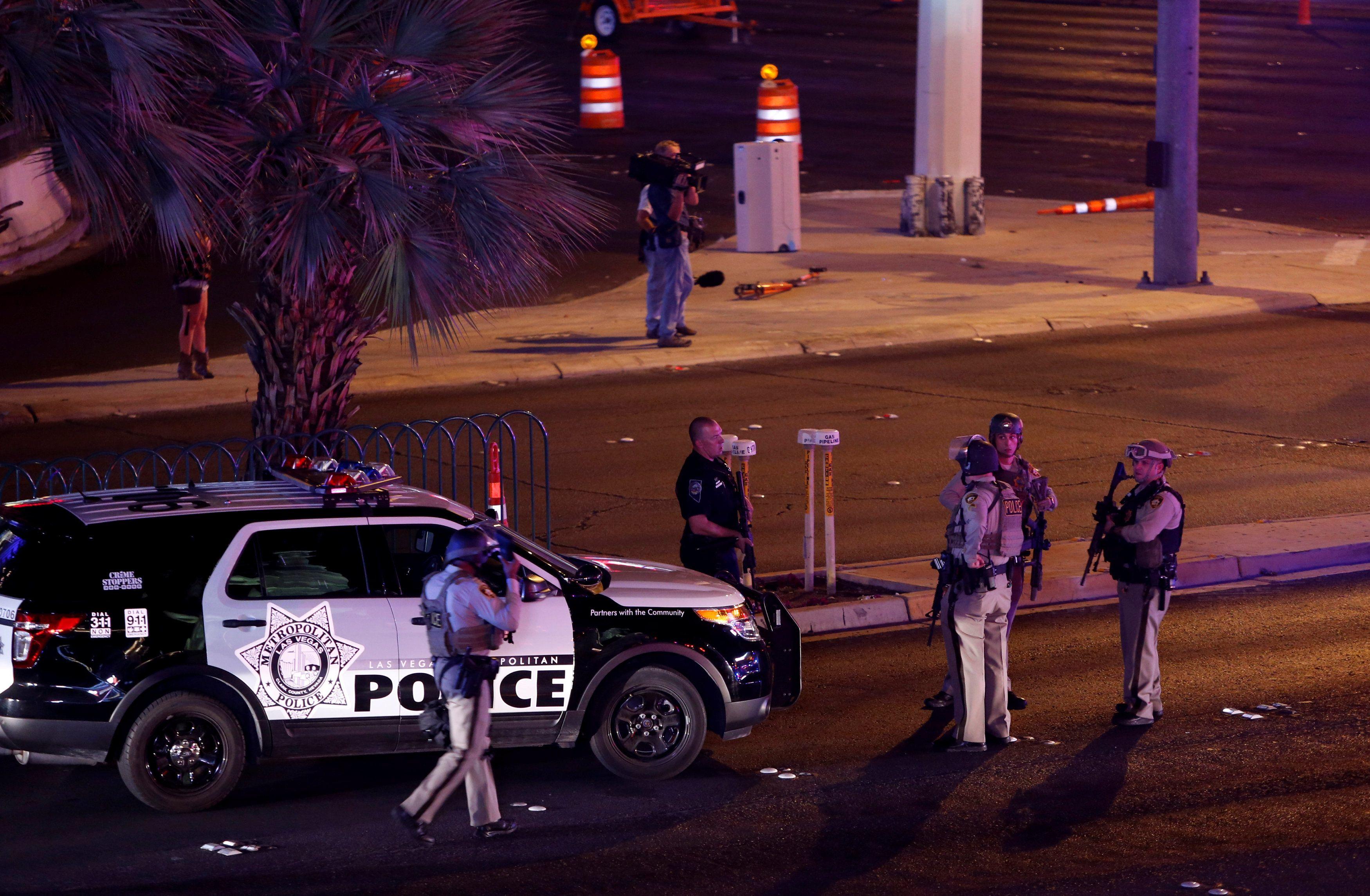 Стрельба в Лас-Вегасе, иллюстрация.
