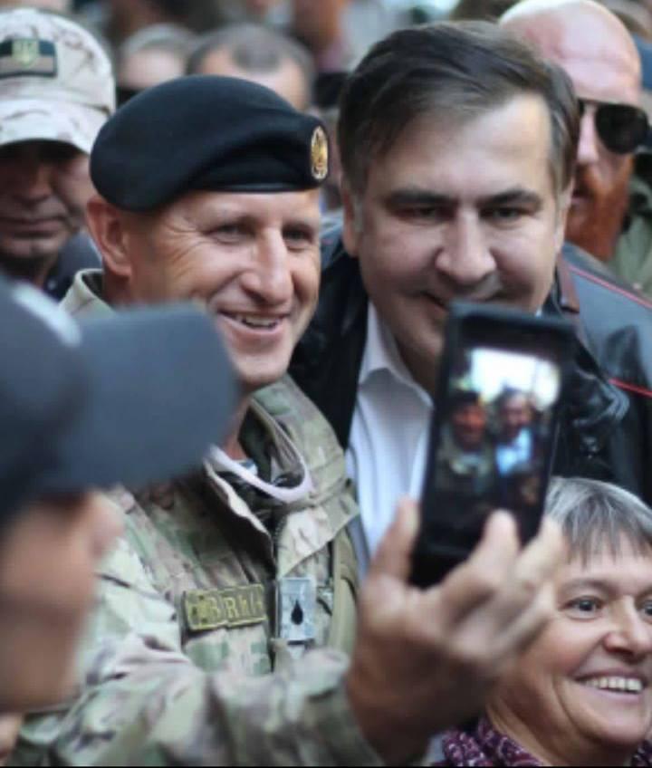 Михеил Саакашвили в Одессе.