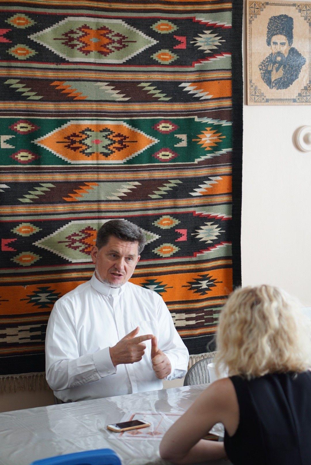 Отець Ярослав Налисник і Анастасія Попсуй