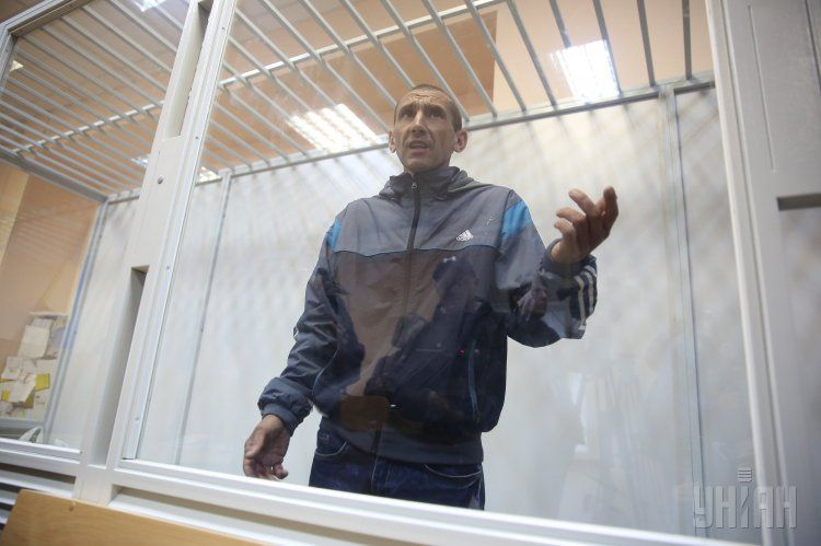 Юрий Чеканов на скамье подсудимых