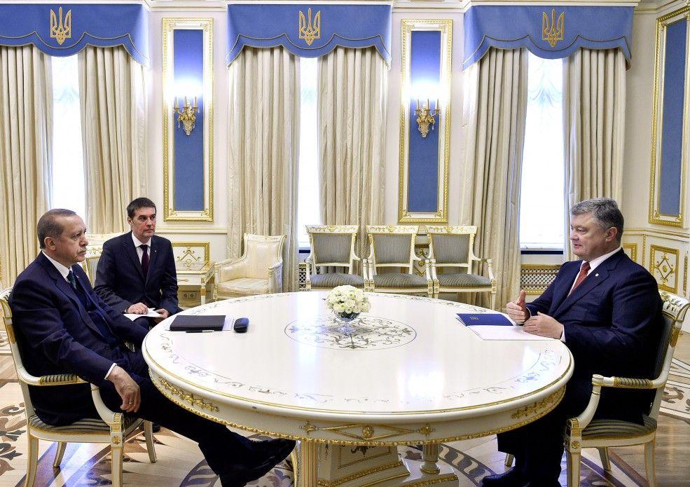 Встреча Петра Порошенко с Реджепом Тайипом Эрдоганом.