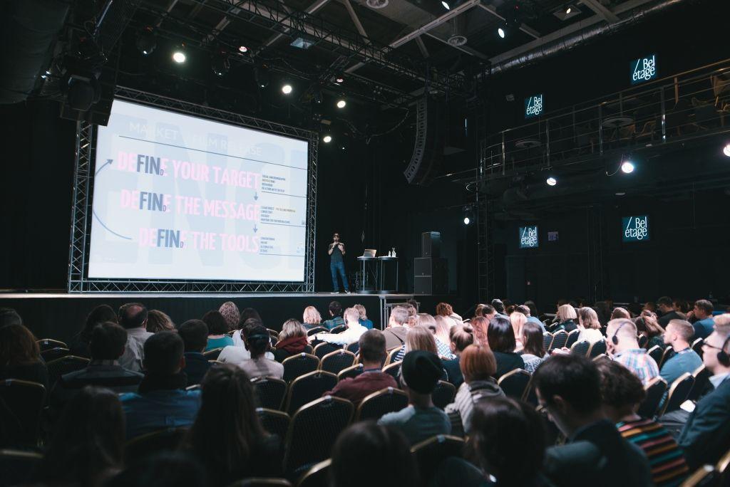 Участники тренинга по инновационному маркетингу и методам дистрибуции кино
