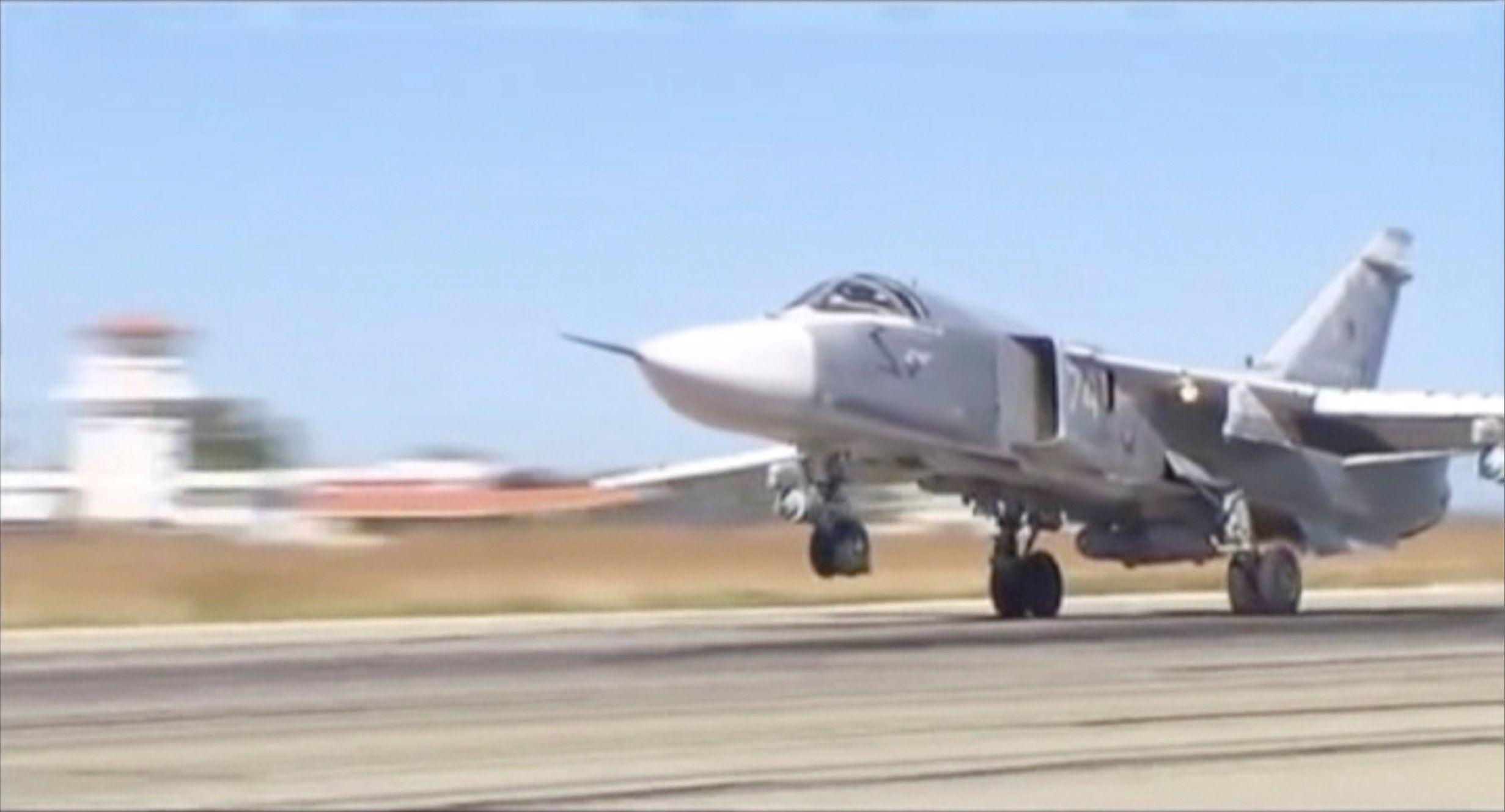 Российская авиация в Сирии