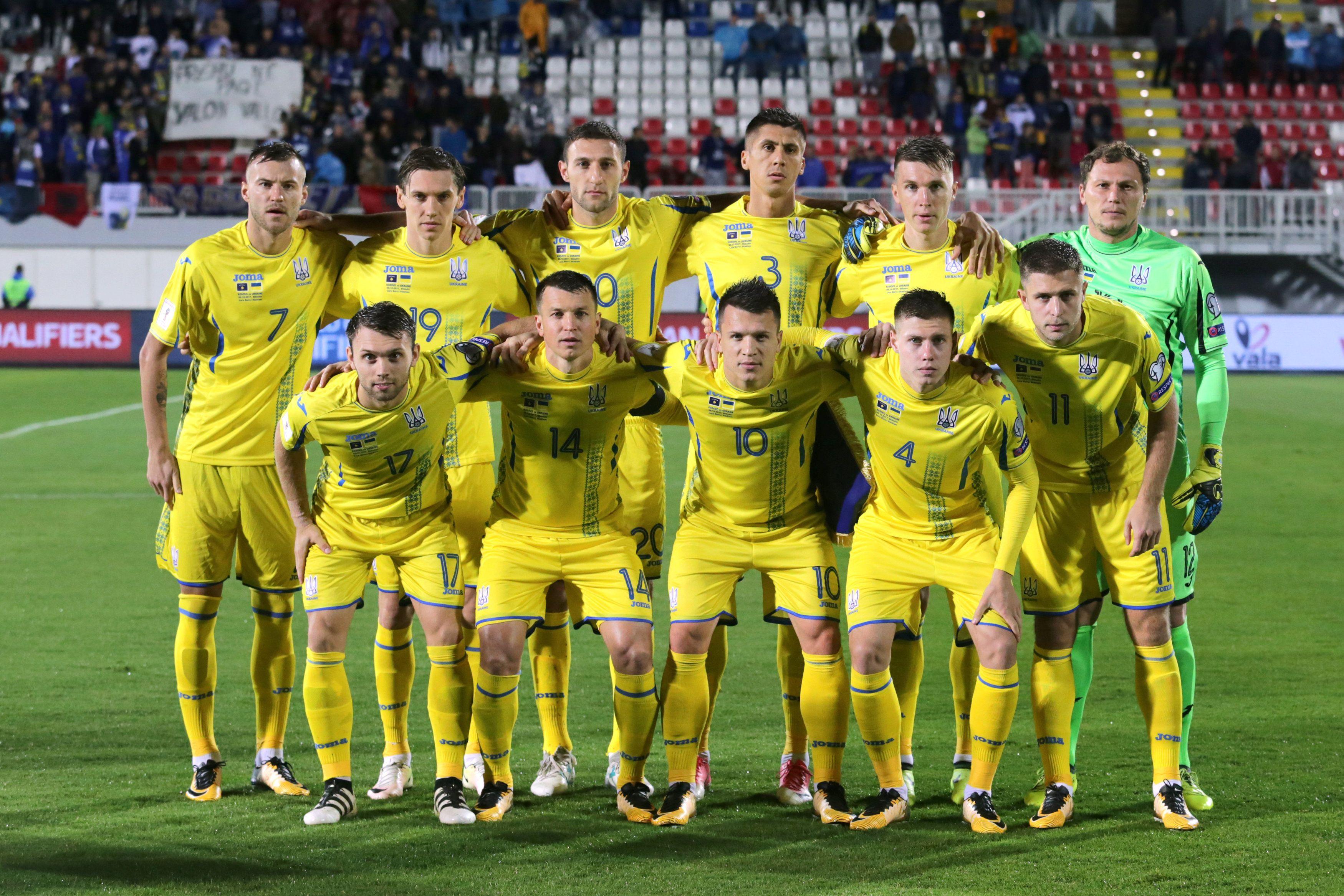 Сборные Украины и Италии сыграют в Генуе