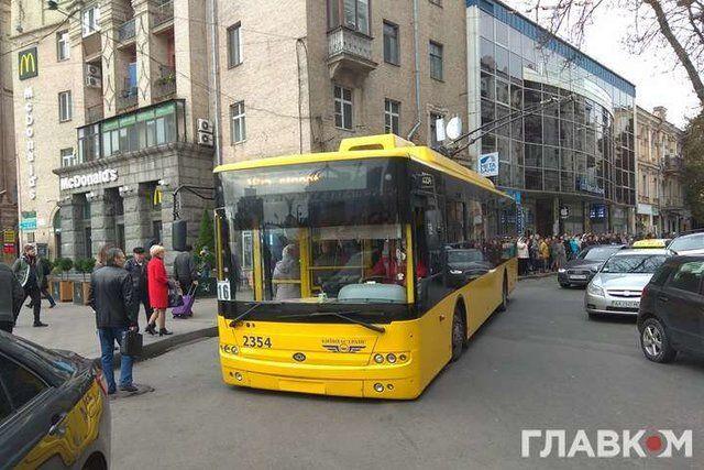 В Киеве из-за
