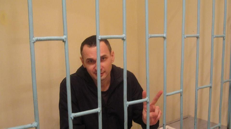 Сенцов рассказал о своем состоянии в колонии.