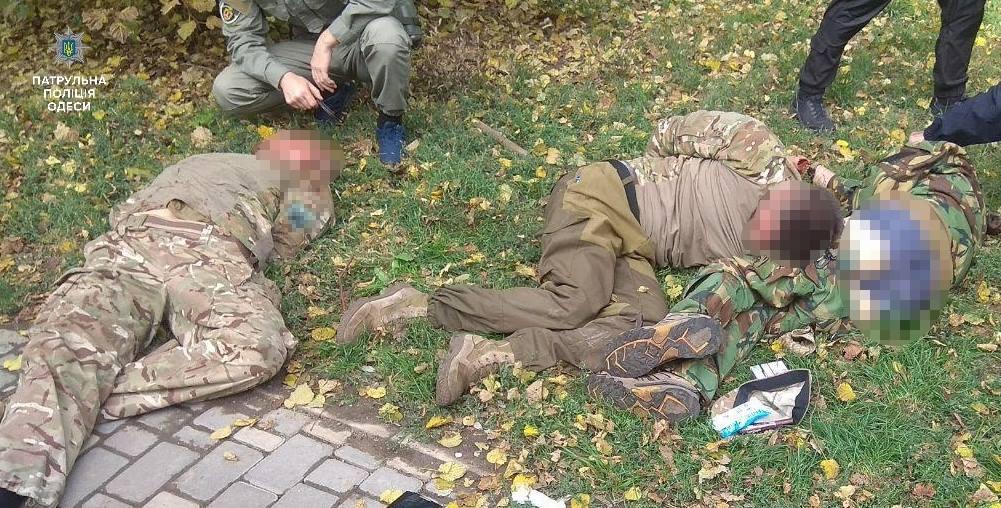 В Одессе повязали пьяных экс-