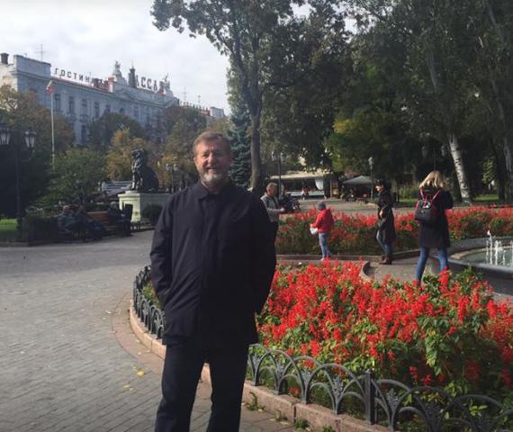 Альфред Кох в Одессе