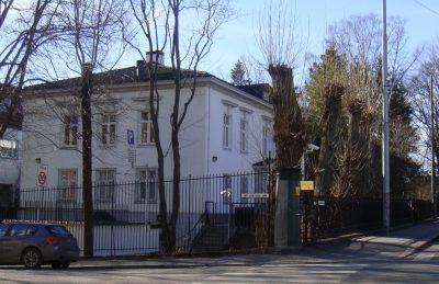 Посольство России в Осло.