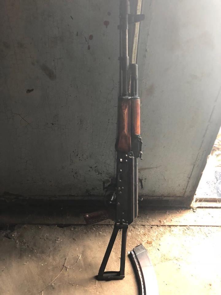 Шкиряк заявил, что у сторонника Семенченко изъяли арсенал оружия и боеприпасов, опубликованы фото
