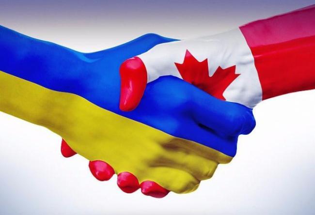 Канада, Украина, рука