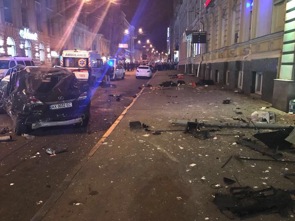 Авария в Харькове, иллюстрация.
