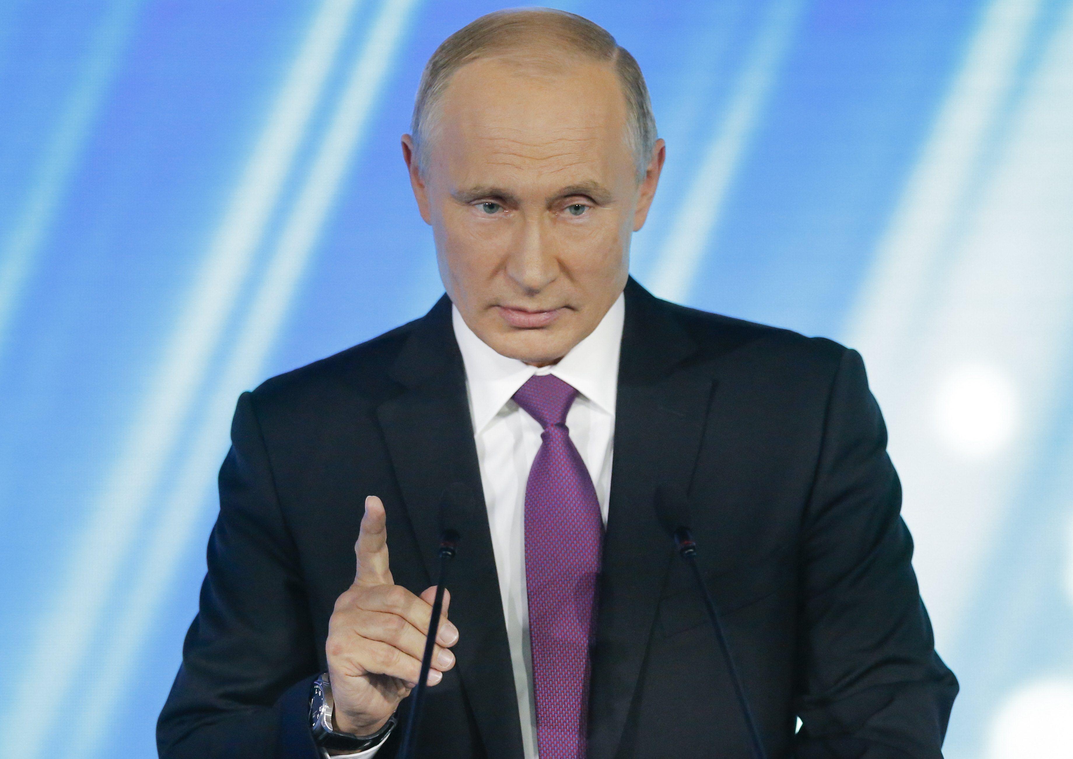 Путин может