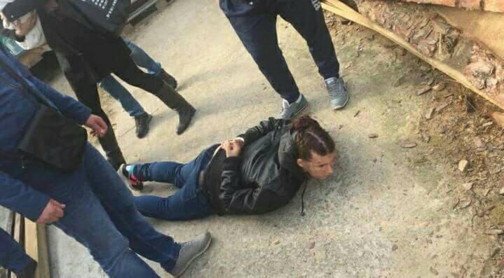 Задержание похитительницы ребенка.