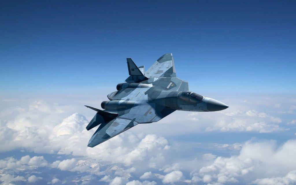 Самолет, Су-57, Россия