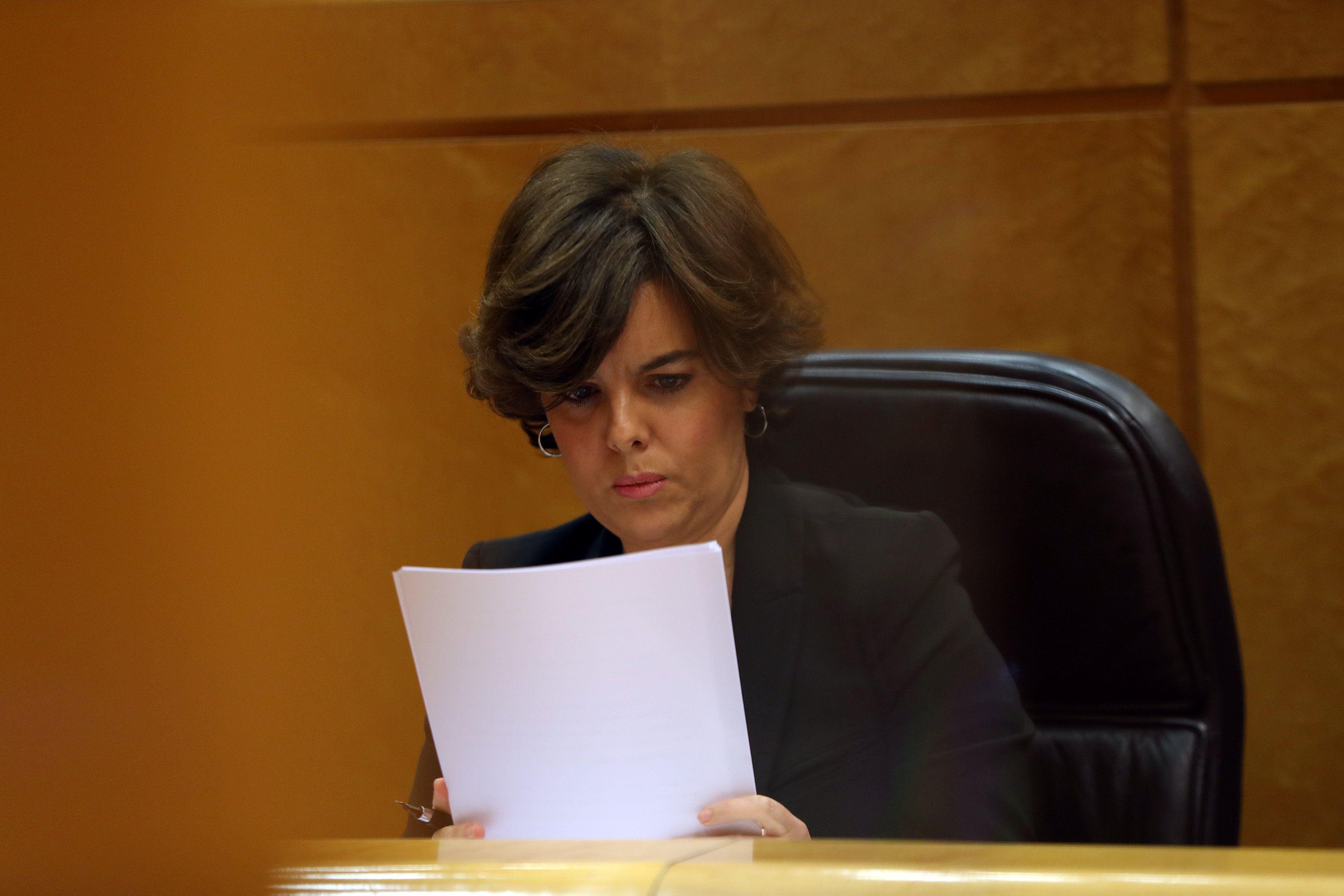 Вице-премьер-министр Испании Сорайя Саенс де Сантамария