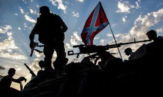 Окопы боевиков, иллюстрация
