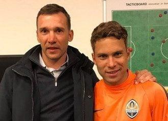 Андрей Шевченко и Марлос