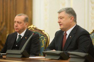 Порошенко, Эрдоган, Киев 03