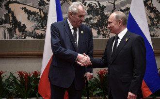 Путин, Земан