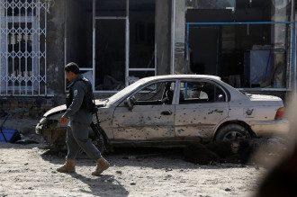 Афганский полицейский, иллюстрация